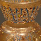 Enameled and Gilded Mosque Lamp 