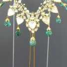 Gem-Set Enamelled Gold Necklace, 