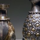 An eighth-century silver vessel, from Iran.